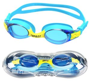 COPOZZ Swimming Goggles for Kids